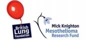 British Lung Foundation - Mick Knighton Mesothelioma Research Fund Logo